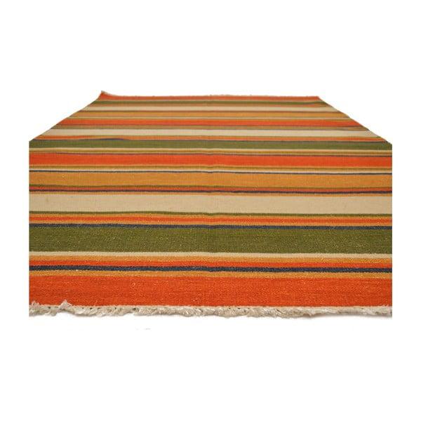 Vlnený koberec Kilim 35, 140x200 cm