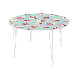 Jedálenský stôl Yummy Cupcakes, 120 cm