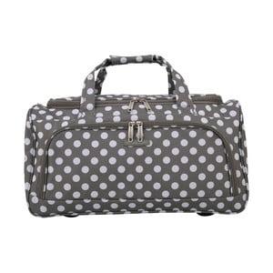 Sivá príručná batožina Travel World, 36 l