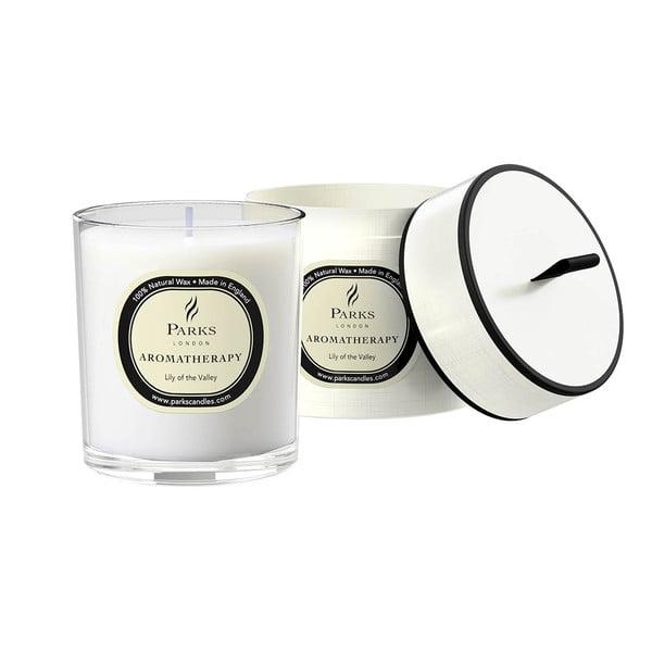 Sviečka s vôňou ľalie Parks Candles London Aromatherapy, 45hodín horenia