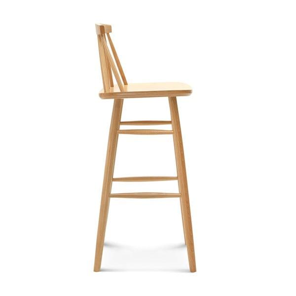 Barová drevená stolička Fameg Rig