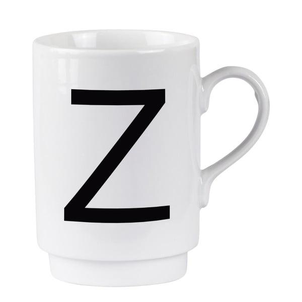 Porcelánový písmenkový hrnček Z