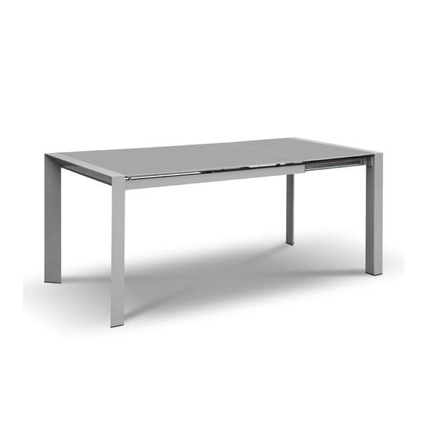 Rozkladací jedálenský stôl Seller, 120-180 cm, sivý