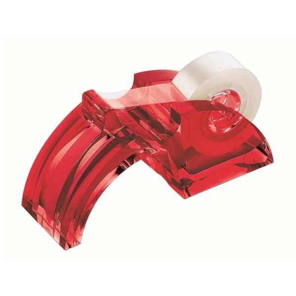 Červený držiak na lepiacu pásku Fratelli Guzzini