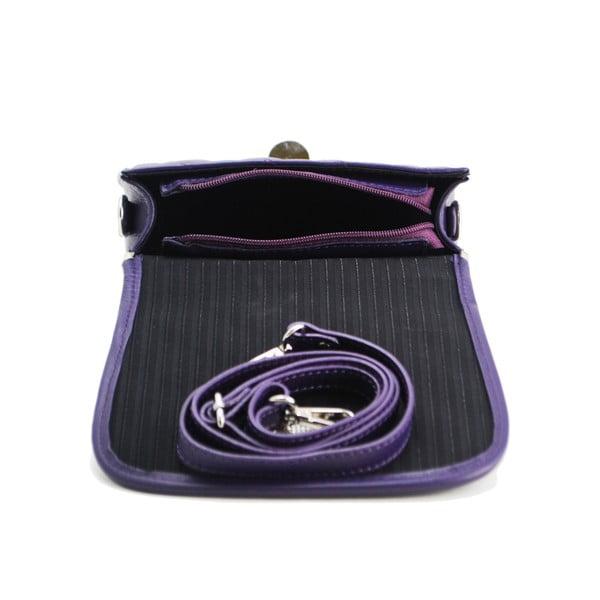 Kožená kabelka Vitello Piccolo Viola