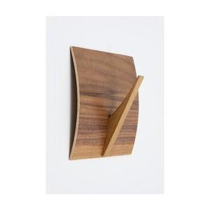 Nástenný vešiak z masívneho dreva Woodman Rack Naki Walnut