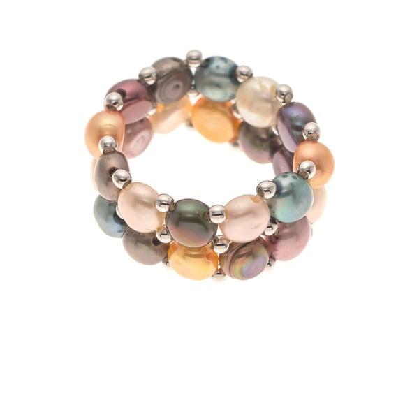 Prsteň Pearls Multi