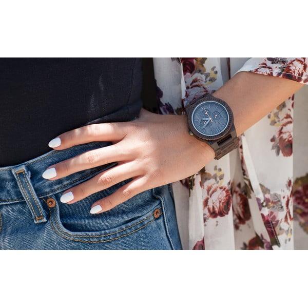 Drevené hodinky Kappa Black
