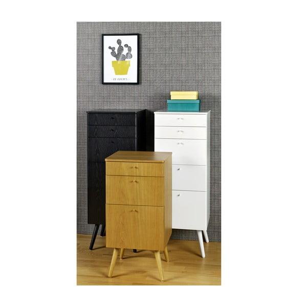 Kancelárske zásuvky Niles, 87 x 40 cm, dub
