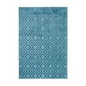 Modrý koberec Mint Rugs Shine, 120 × 170 cm