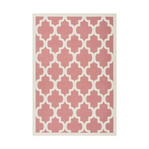 Ružový koberec Kayoom Maroc Criss, 80 x 150 cm
