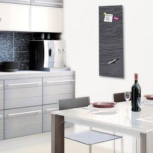 Magnetická tabuľa Eurographic Black Slate, 30x80cm