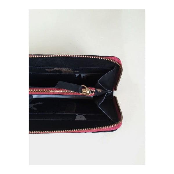 Peňaženka Zip Black/Rot
