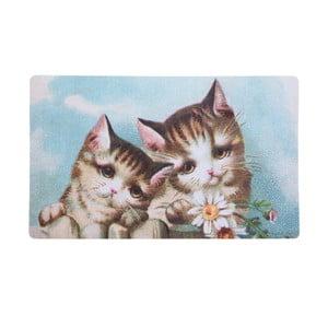 Rohožka s mačiatkami Kitten, 73x44 cm