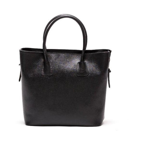Kožená kabelka Renata Corsi 429 Nero