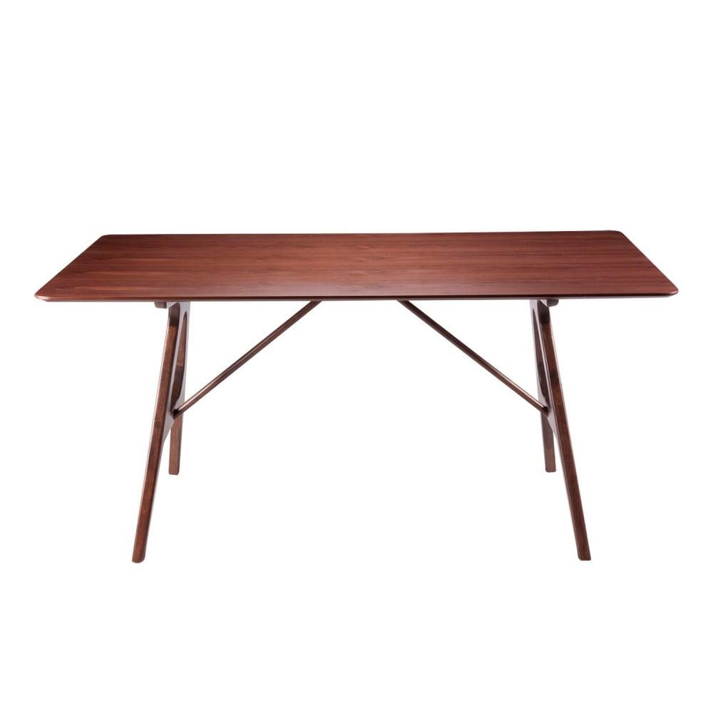 Drevený jedálenský stôl sømcasa Amara, 160 × 95 cm