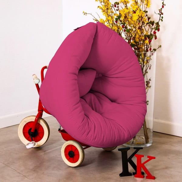 Detské kresielko Karup Baby Nest Magenta