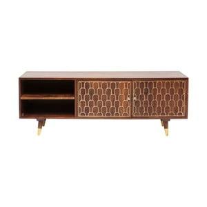 TV komoda z mangového dreva Kare Design Muskat