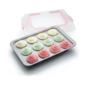 Plech na pečenie cupcakov s prenosným vekom Sweetly Does It