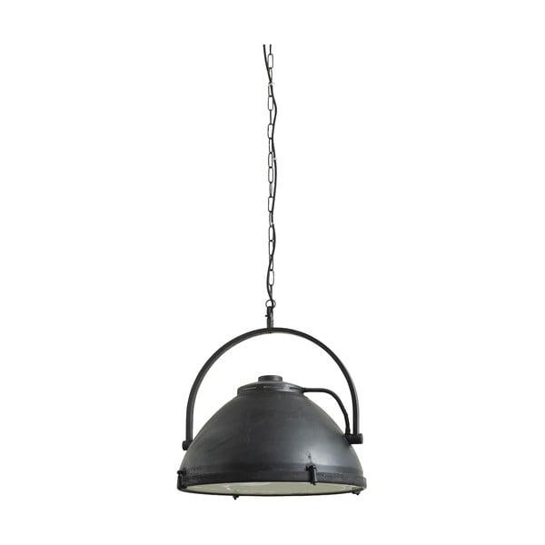 Závesné svietidlo Factory 51 cm, čierne