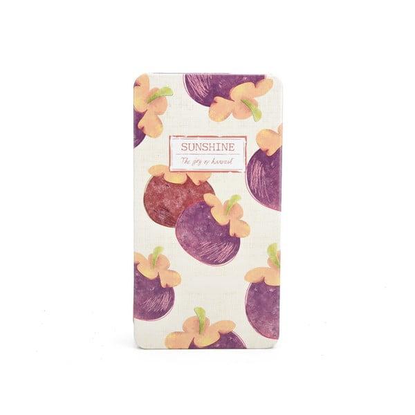 Plechový zápisník Sunshine, baklažán