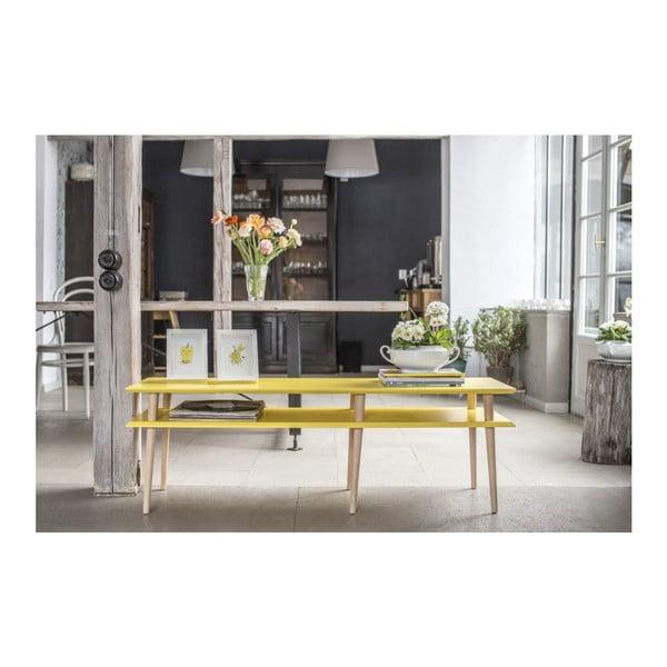 Tmavotyrkysový konferenčný stolík Ragaba Mugo,dĺžka139 cm