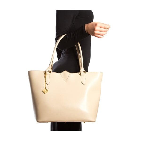Kožená kabelka Isabella Rhea 440, béžová