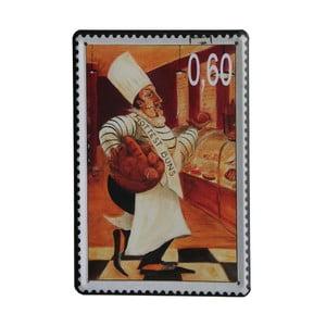 Ceduľa Stamp Chef I, 15x21 cm