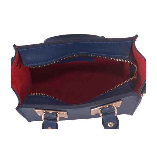 Kožená kabelka Andrea Cardone 2017 Blue Marine
