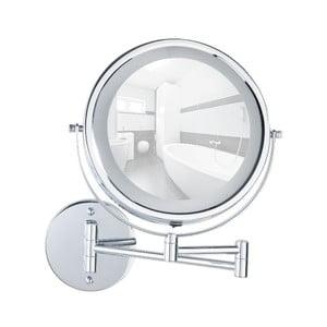 Nástenné kozmetické zrkadlo s LED svetlom Wenko Lumi