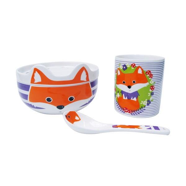 Detský porcelánový set Happy Fryderyk