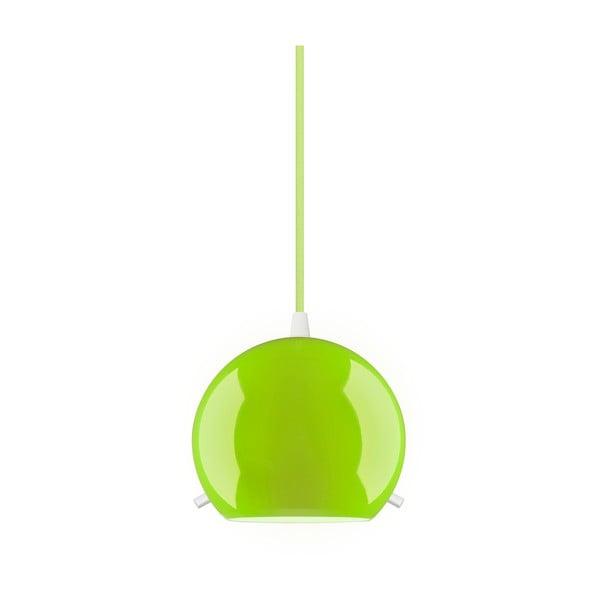 Zelené lesklé závesné svietidlo Sotto Luce MYOO
