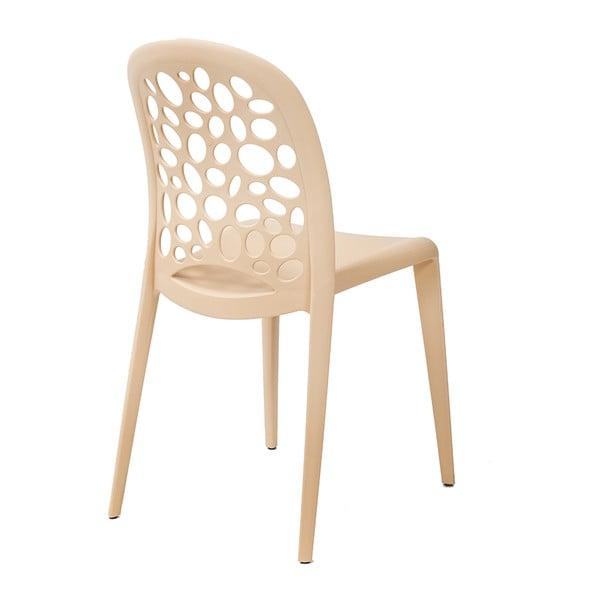 Stolička Allegra, krémová