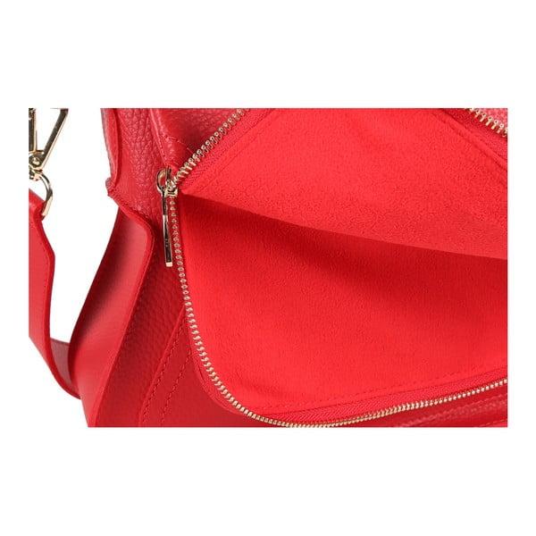 Červená kabelka z eko kože Beverly Hills Polo Club Janis