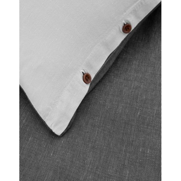 Obliečky Marc O'Polo Vari, 200x200 cm, antracitové
