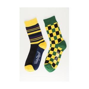 Sada 2 párov unisex ponožiek Funky Steps Hype, veľkosť 39/45