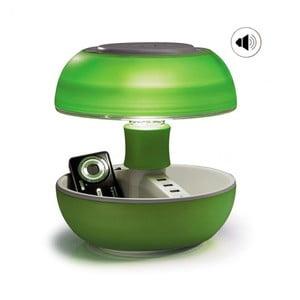 Stolná lampa, nabíjačka a reproduktor v jednom Joyo Light, zelená
