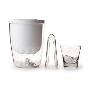 Nádoba na ľad QUALY Polar Ice Bucket, biela