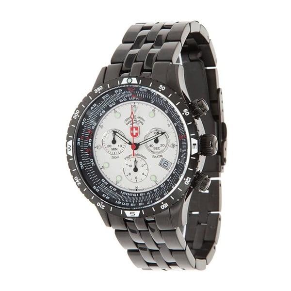 Pánske hodinky Swiss Military Pilot Black