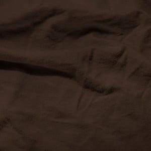 Tmavohnedá elastická plachta Homecare, 80-100 x 200 cm