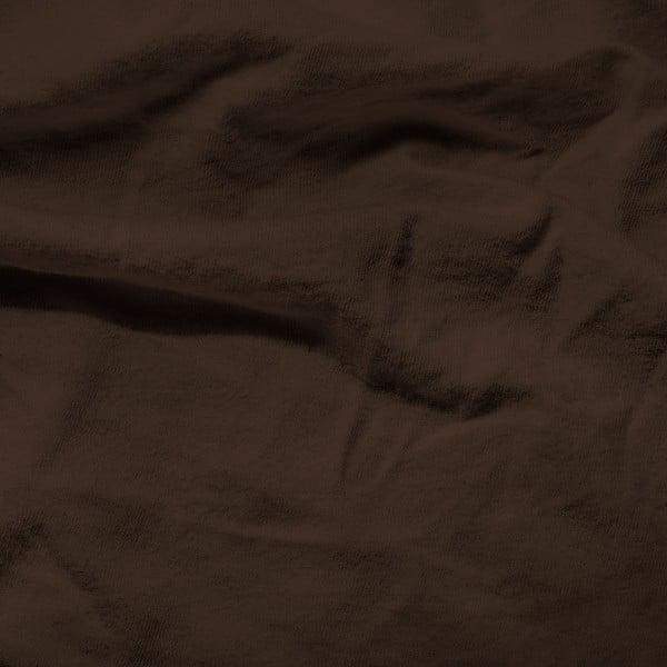 Tmavohnedá elastická plachta Homecare, 190-200 x 200-220 cm