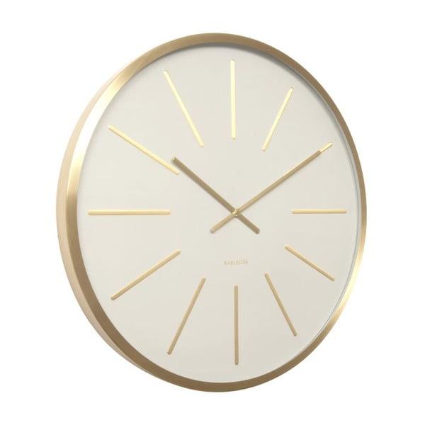 Hodiny Present Time Maxiwmus Brass