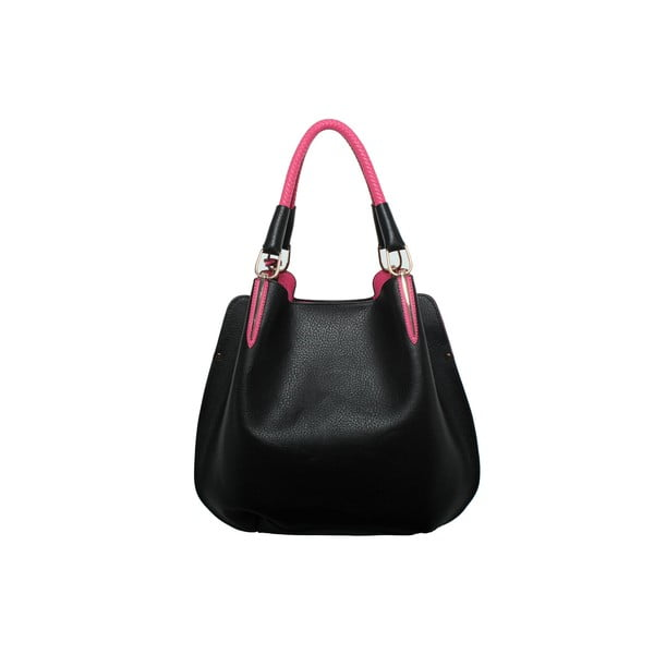 Kabelka Beverly Hills Polo Club 447 - Black/Fuchsia