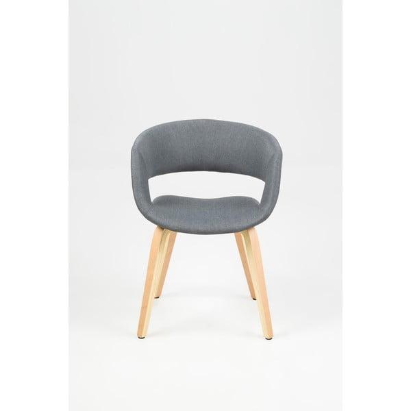 Tmavosivá jedálenská stolička Actona Grace