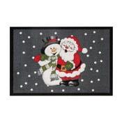 Rohožka Zala Living Santa and Snowman, 40×60cm