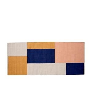 Bavlnený koberec Södahl Block, 75 x 180 cm