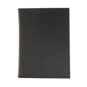 Čierna kožená pánska peňaženka Alviero Martini Basso