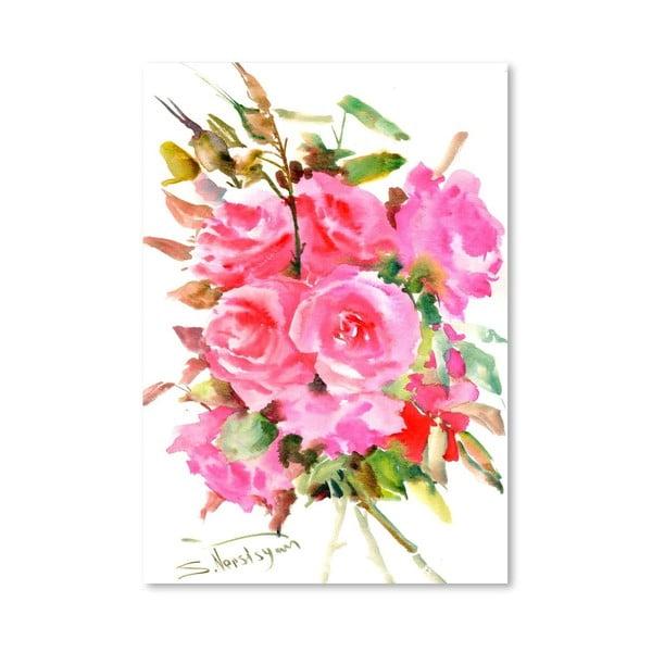 Plagát Tea Roses od Suren Nersisyan
