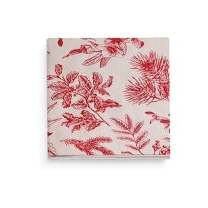 Sada 4 červených prestieraní L'Officiel Interiors Chambord, 45 × 45 cm