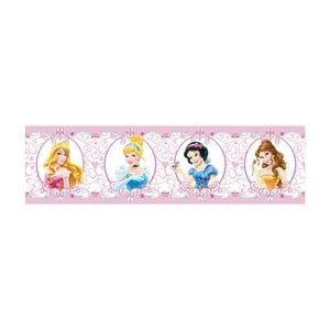 Samolepiaca bordúra AG Design Disney Princezné, dĺžka 5 m